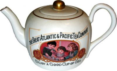Atlantic Pacific Teapot