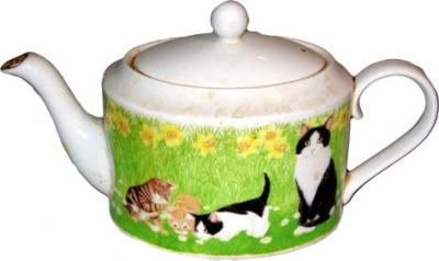 Cats Teapot