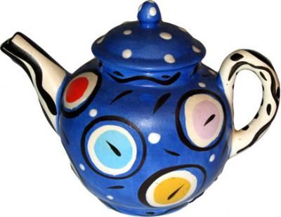 Clocks Teapot