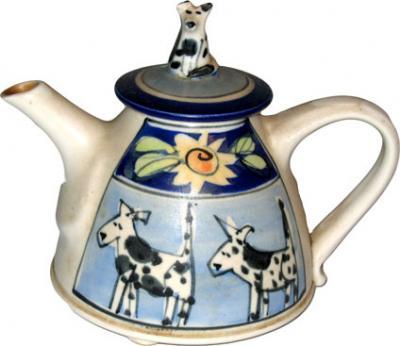 Dogs Teapot