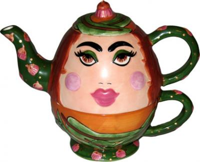 Face Teapot
