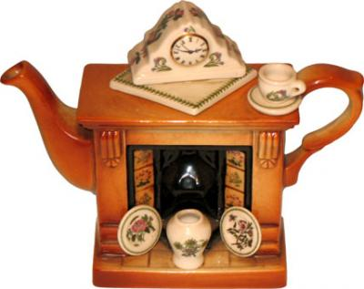 Fireplace Teapot