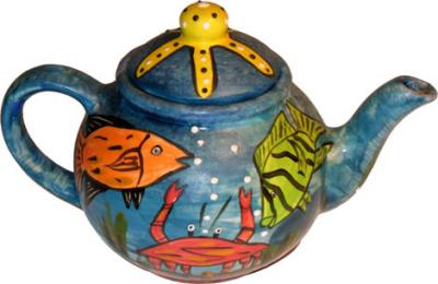 Fish Teapot 2