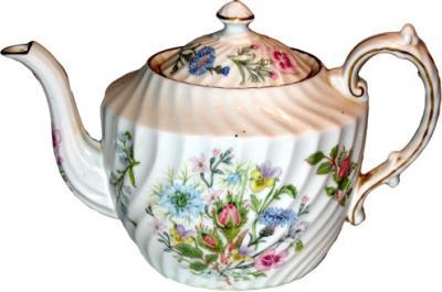 Flowers Teapot