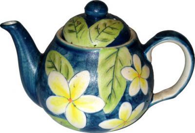 Frangipani Teapot