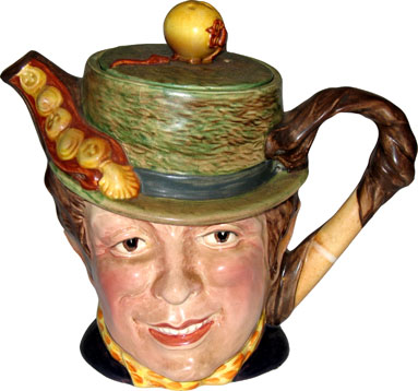 Head Teapot