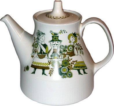 Ladies Teapot