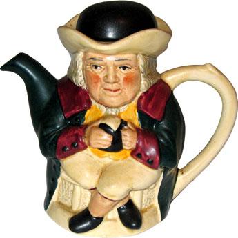 Man Teapot