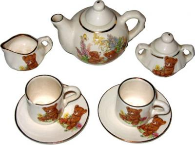 Minature Bear Teaset