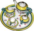Minature Floral Teaset