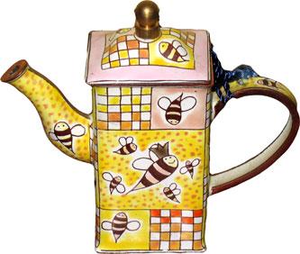 Mini Bees Teapot