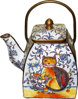Mini Cat Teapot