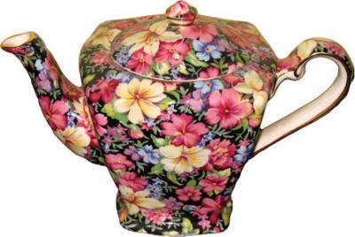 Mini Floral Teapot