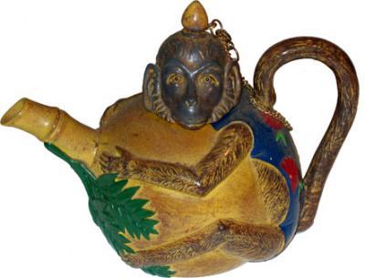 Mini Monkey Teapot