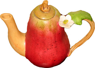 Mini Pear Teapot