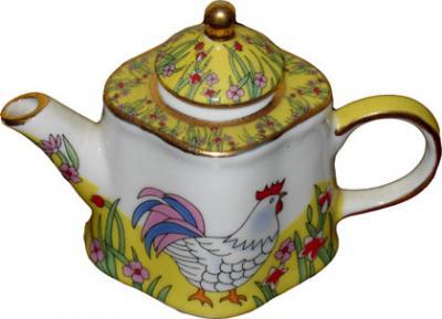 Mini Rooster Teapot