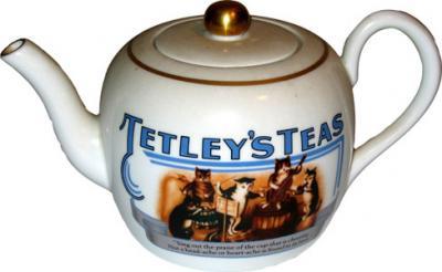 Tetley Teapot